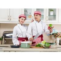 Wholesale Long Sleeves White Personalized Chef Coat  Whites Chefs Clothing from china suppliers