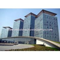 Wholesale Safe Galvanized Prefabricated Steel Structures For Infrastructure Building from china suppliers
