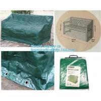 China Green Waterproof pe plastic outdoor garden furniture covers,lounge bench covers,funiture series,garden bench cover, bag on sale