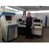 Buy cheap Copper , aluminium and brass CNC laser cutting machine / cnc laser cutter from wholesalers