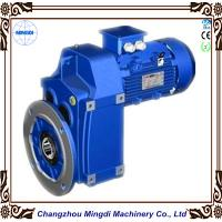 China 0.12-200KW F Series Helical Bevel Parallel Shaft Mounted Gearbox Max 18000RPM 58-62 HRC on sale
