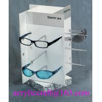 Rotary Acrylic Display Stand For Sunglasses / Glasses Retail Store