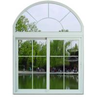 Wholesale Soundproof White / Blue Sliding Aluminum Frame Windows With ROTO / SIEGENIA Hardware from china suppliers