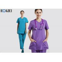 Wholesale Hospital Nurse Uniform Medical Office Uniforms Ventilate Cotton Female Workwear from china suppliers