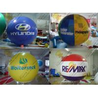 Wholesale 2.5m Thickness PVC Large Inflatable Balloons Fire Resistance For Outdoor Decorations from china suppliers