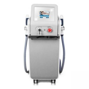 Wholesale Double Handle Vertical 10HZ OPT DPL SHR Ipl Hair Removal Machine from china suppliers