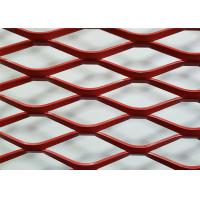 China High Strength Expanded Metal Wire Mesh , Decorative Expanded Metal Grating on sale