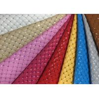 Wholesale Mildew Proof Quilted Leather Fabric Nonwoven Synthetic PU Embroidered from china suppliers