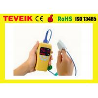 China Medical equipment handheld pulse oximeter finger tip spo2 pulse oximeter sensor on sale