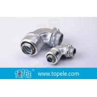 Zinc Plated Malleable Flexible Conduit And Fittings Connector