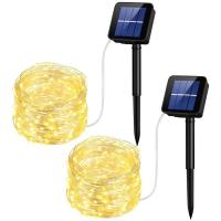 Buy cheap 10M Solar Led String Lights Solar Powered Rope Lights 1 Year Warranty from wholesalers