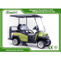 Wholesale Green EXCAR Electric Golf Car 3 Or 4 Seater 48V ADC Motor CE Approved from china suppliers