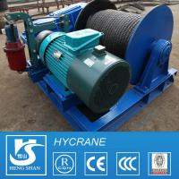 Wireless Remote Control Crane Electric Winch for Lifting and Pulling for sale
