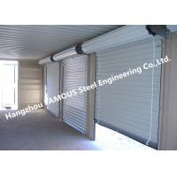 Wholesale Residential Overhead Roll Up Industrial Steel Garage Doors With Fire Resistant from china suppliers