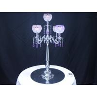 Wholesale 5 Arm Candelabra,Glass Beaded Candle Holder from china suppliers