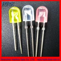 Wholesale 5mm Elliptical LED Lamp All Colors Avialable (HH-5SOCCY506) from china suppliers
