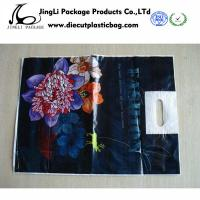 Wholesale Custom Printed Plastic Bags with Handle for t shirts , promotional courier bags from china suppliers