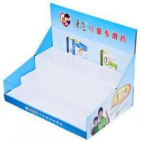 Wholesale 200G Craft paper POP Cardboard Display Counter For Ball Pens , UV Coating from china suppliers