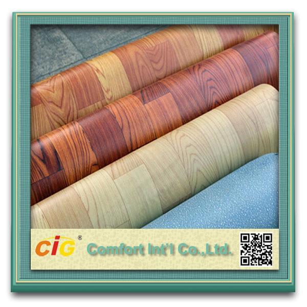 Quality Indoor Basketball Sport Flooring Foamed Vinyl Floor Coverings Moisture - Proof for sale