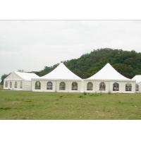 China Durable 10 x 10 Canopy Tent , Aluminium Marquee Frame Tent 5.7 M Ridge Height on sale