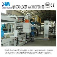 Wholesale 1000mm Mono Layer PP PS Sheet Extrusion Line Machinery With Easy Operation from china suppliers
