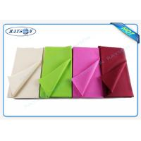 Quality Monouso Non Woven Tablecloth  IN TNT Fabric Overseas Stable Uniformity Disposable Fabric 1m * 1m for sale