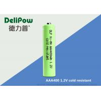 Wholesale Rapid Charge NiMH AAA Low Temperature Rechargeable Batteries 400mah from china suppliers