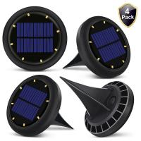 Quality 0.07w Solar Powered LED Ground Lights Solar Ground Buried Light Four Colors for sale