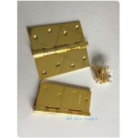 Wholesale OEM Ring Stainless Steel Ball Bearing Door Hinges GP Golden Plated 3.0mm from china suppliers