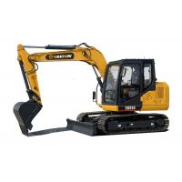 Wholesale 63hp Soil Moving Machinery  8 ton mini Crawler Excavator with 0.32 m3 bucket from china suppliers