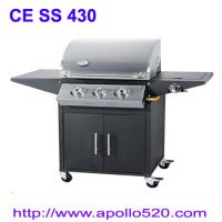 Hooded Gas BBQ