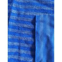 Wholesale 160cm Width Warp Knitting Blue Eight Grid Microfiber Cleaning Cloth SGS from china suppliers