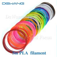 Buy cheap Markerbot pla plastic 3d printing filament materials , polylactic acid filament product