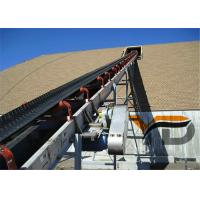 China High Tensile Strength Flat Belt Conveyor Durable For Coal / Mineral Ores on sale
