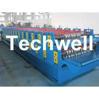 Wholesale 0 - 15m/min Forming Speed Double Layer Forming Machine For Roof Wall Panels from china suppliers