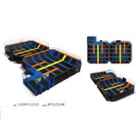 Wholesale 450M2 Durable Cheap Facotry Direct Sell  Big Trampoline Park Party Equipment With Exciting Dodge Ball Games from china suppliers
