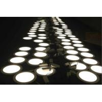 Quality Ultra Thin Round 4 Watt LED Recessed Panel Lights 3000K 1080lm 120° for sale