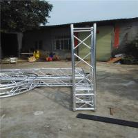 Wholesale Multi - Shape Safe Aluminum Box Truss , Alloy 6082-T6 Screw Truss Tent System from china suppliers