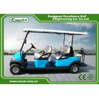 Wholesale Sky Blue Electric Golf Buggy 6 Person Aluminum 3.7KW ADC Separately Motor from china suppliers