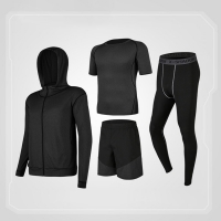 Wholesale Cotton Polyester Training Fitness Gym Cloth Suit Men Running Wear from china suppliers
