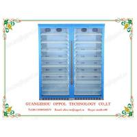Wholesale OP-1104 Guangzhou Manufacturer Double Glass Doors Multi Shelves Air Cooling Refrigerator from china suppliers