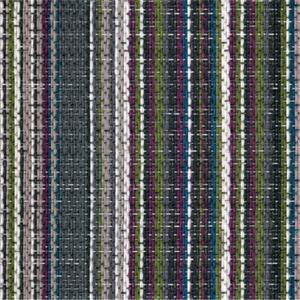 China Multi Stripe Rectangle Woven Vinyl Flooring , Indoor PVC Woven Vinyl Tile on sale