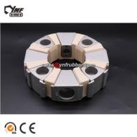 Buy cheap 45H Mechanical Hydraulic Pump Flexible Rubber Coupling For Excavator Parts from wholesalers