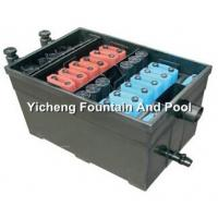 Quality UV Lamp Filtration System , Construction Biological Fish Pond Filters for sale