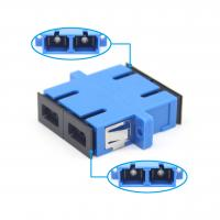 Wholesale SC UPC Duplex Fiber Optic Adapter For FTTH Fiber Connection Low Insertion Loss from china suppliers