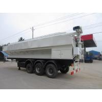 Wholesale CLW high quality power auger 30tons bulk feed transportation tank trailer for sale, best price bulk feed tank trailer from china suppliers