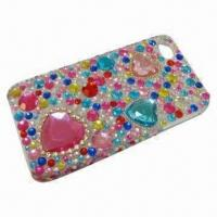 Wholesale Diamond Bling Crystal Hard Case, Suitable for iPhone 4/4S, with Rhinestone from china suppliers