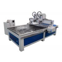 Wholesale 3.0kw Double Spindles Multi Head CNC Router Vertical For Wood Processing Low Maintenance from china suppliers