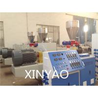 Wholesale SJZ80 Conical double screw PVC Pipe Extrusion Line , PVC twin screw extruder, from china suppliers