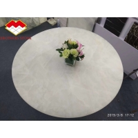 Wholesale Ice Age Onyx White Marble Onyx Backlit Semi Precious Stone Table Tops from china suppliers